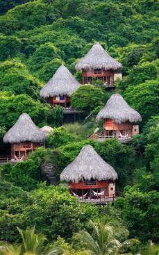 Ecohabs, Cañaveral, Parc Tayrona, Santa Marta, MAG, Colombia