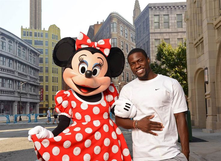 Move Over, Mickey: Minnie Mouse has a black man in her life now—Kevin Hart!