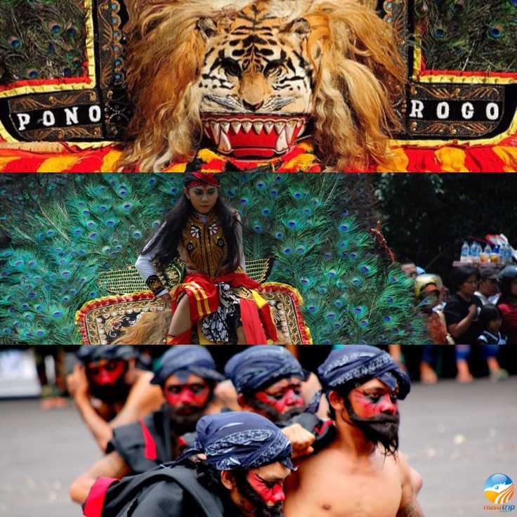 The unique Reog Ponorogo from East Java Indonesia