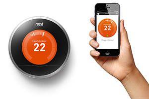 Fournisseur éléctricité, gaz, Nest Learning Thermostat : Direct Energie
