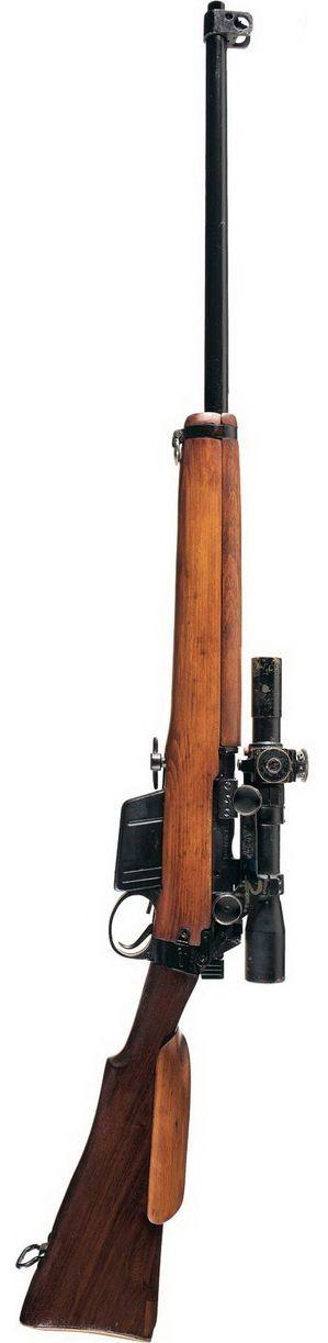 British .303 Lee-Enfield MkI(T) sniper rifle