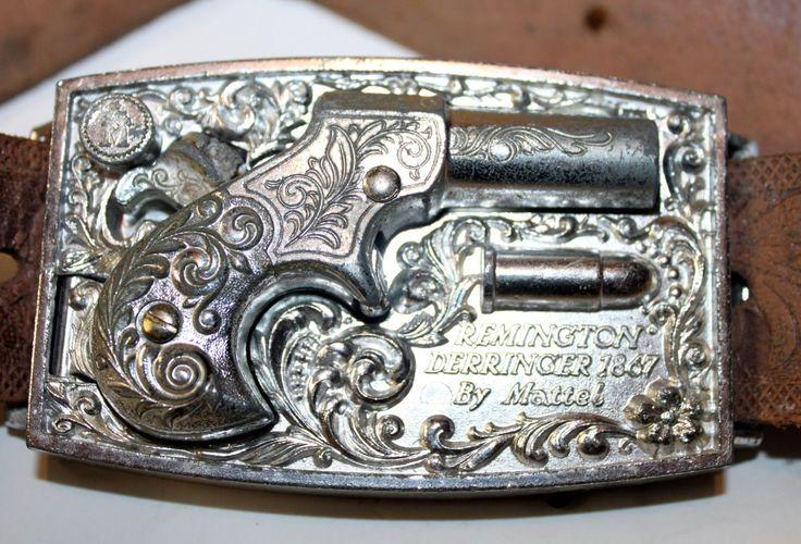 1959 Remington Derringer 1867 by Mattel Toy Gun in Buckle ...