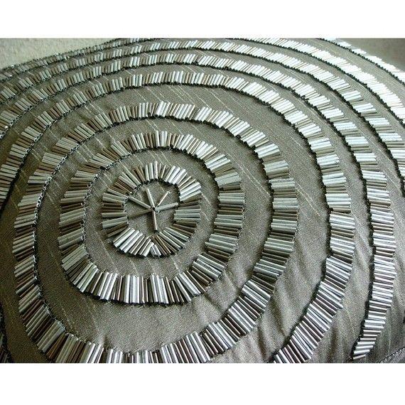 Diseñador Gris Decorativo De La Cubierta Cojines 40x40 cm