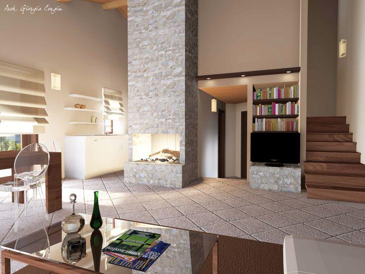 79 best progetti giciarch images on pinterest | apartment living ... - Arredamento Interni Progetti