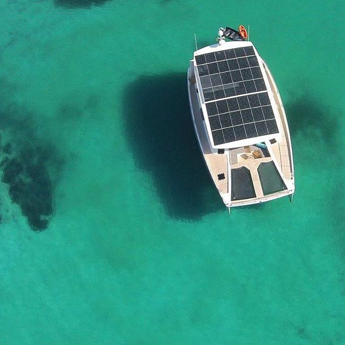 @ecomarineglobal Solar powered yatch  #Canada #Quebec #TheBlueCO #environnement #environment #cleanwater #cleanenergy #change #socialbusiness #greenenergy #activist #earth #nature #pollution #animals #animeaux #marine #corals