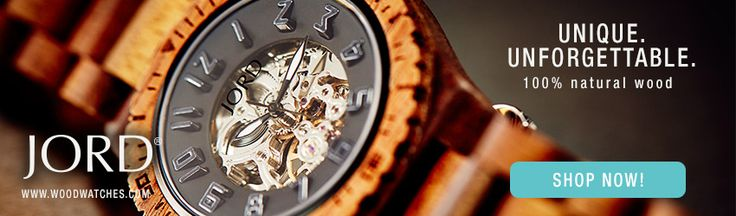 JORD Wood Watch + Contest - The Vagabond Wayfarer