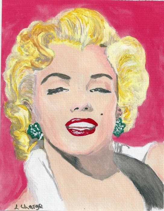 Marilyn Monroe by Lindasart