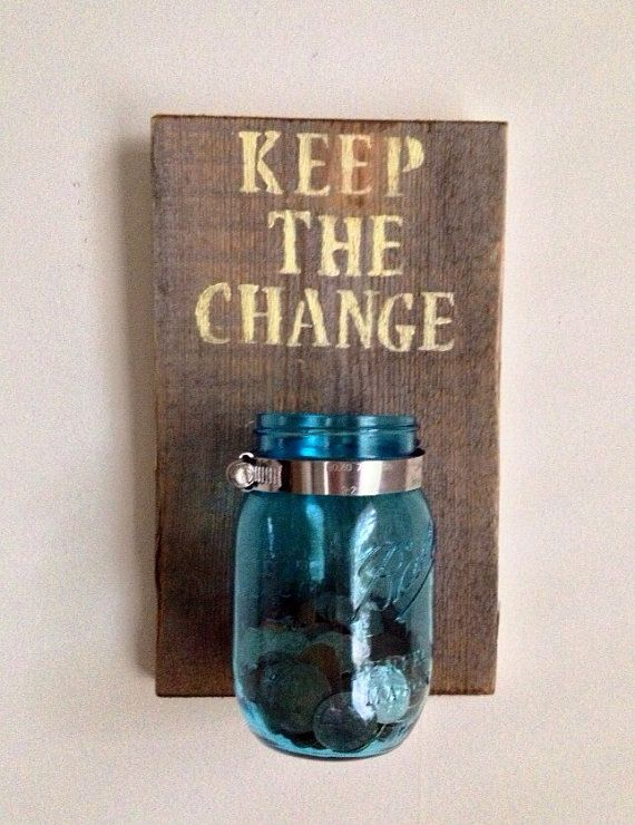 Keep The Change Laundry Room Decor Crafts Pinterest