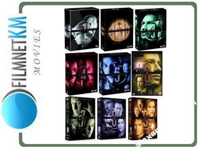Z ARCHIWUM X SEZONY 1-9 PAKIET (48 DVD)