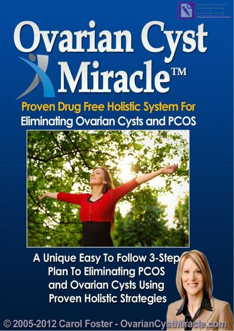 Ovarian Cyst Miracle Pdf