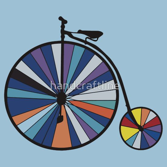 PopArt vintage bicycle