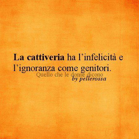 #cattiveria #ignoranza