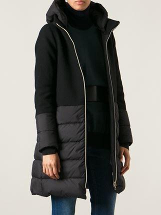 Herno paneled padded coat
