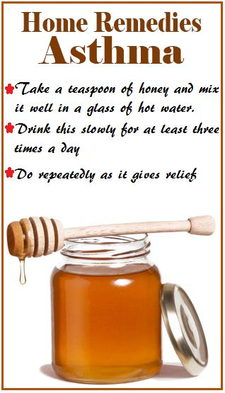 Honey Remedy for Asthma (no idea if this works - just re-pinning)