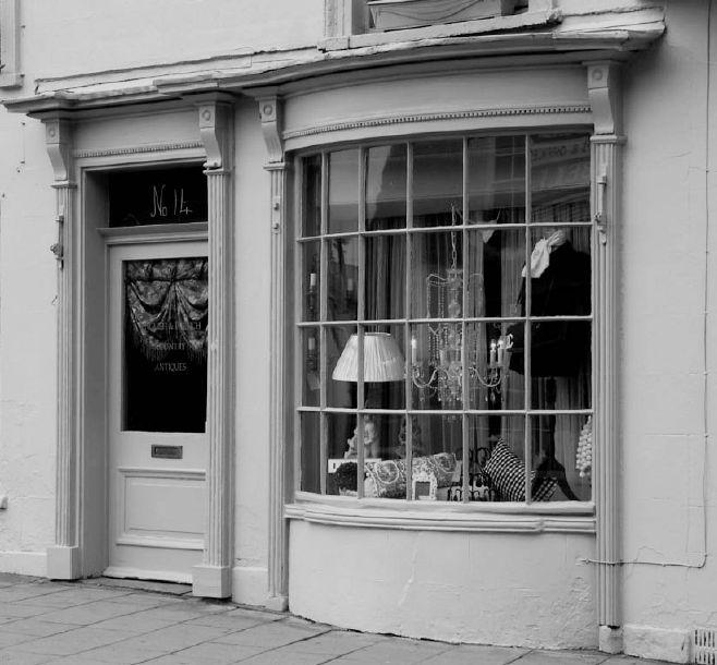 Georgian shop front