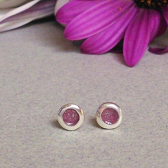 TINY SILVER EARRINGS/ silver enamel studs/ sterling silver earrings/ christmas gift/women earrings/kids earrings/girl earrings/gift