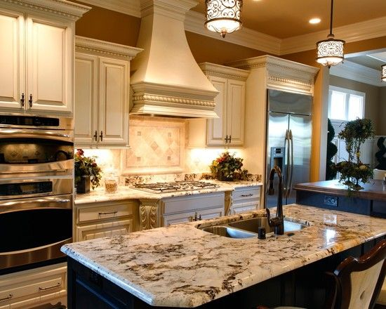 Let NewGraniteMarble.com Complete Your Next Countertop Project! Love The  Countertop With The Black