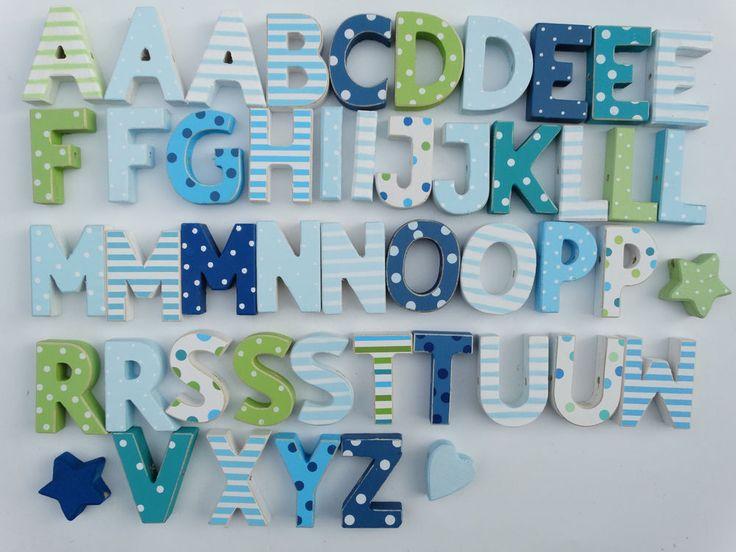 606 best Kinderzimmer Holzbuchstaben für Mädchen, Junge und Baby ...