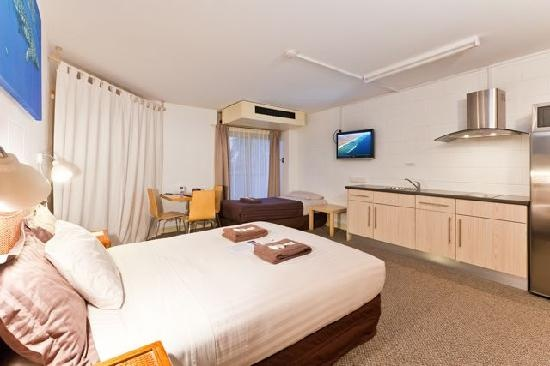 Golden chain sea breeze resort in exmouth.  Great reviews. More basic