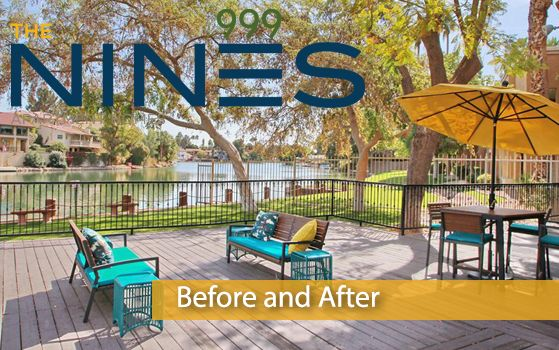 Introducing another #CommunityRedefined project, The Nines Apartment Homes; a rebranded apartment community located in #Tempe, AZ. Trinity Property Consultants together with Redwood Construction have completed 133 interior renovations and many exterior improvements. Take a look at the before and after pictures below to view the transformation! #BeforeAfterTransformation