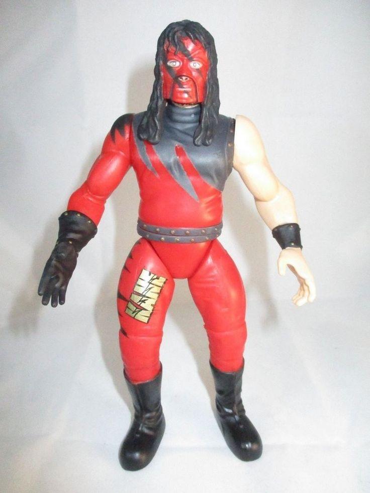 WWF Kane The Big Red Machine 6in. Action Figure Jakks 1998 #JAKKSPacific