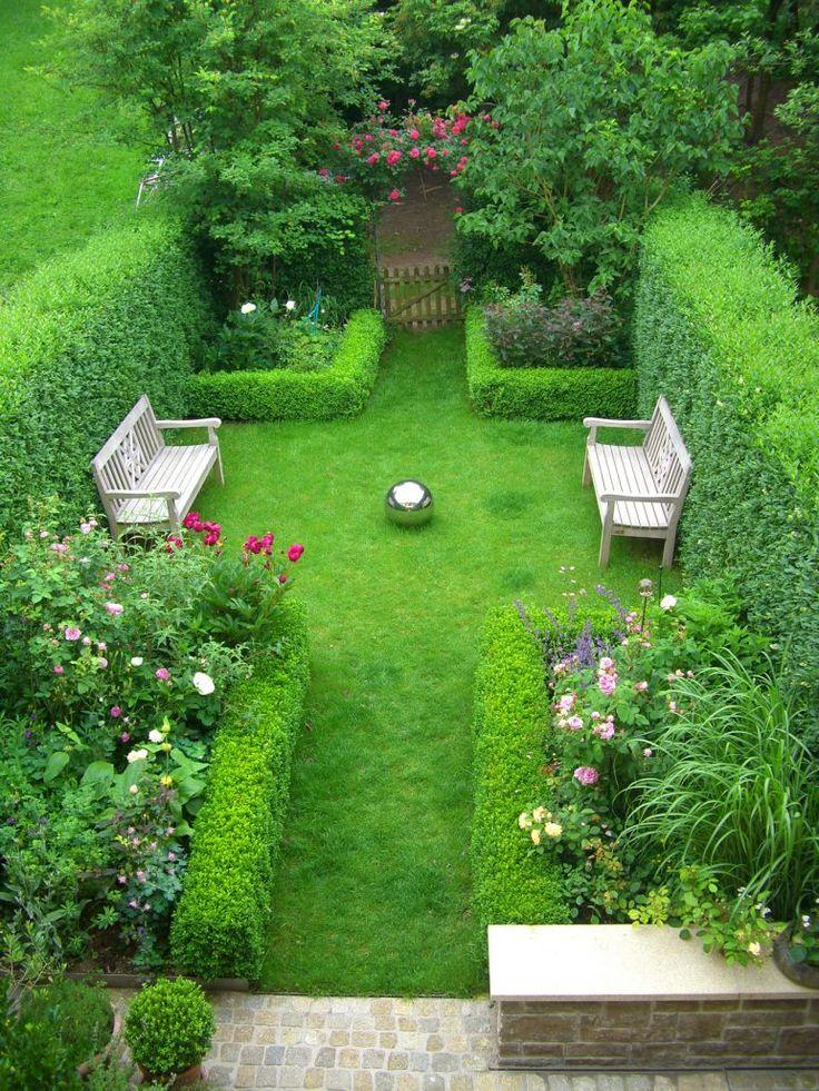 die besten 20 reihenhausgarten ideen auf pinterest. Black Bedroom Furniture Sets. Home Design Ideas
