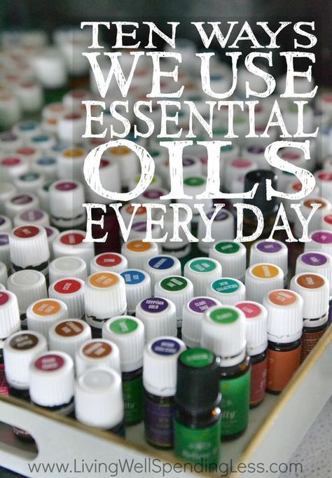 Essential oils seem to be everywhere these days, but getting started can seem totally overwhelming. If you've been curious about essential oils and how to use them, don't miss this super informative post about the 10 ways to use essential oils every single day!