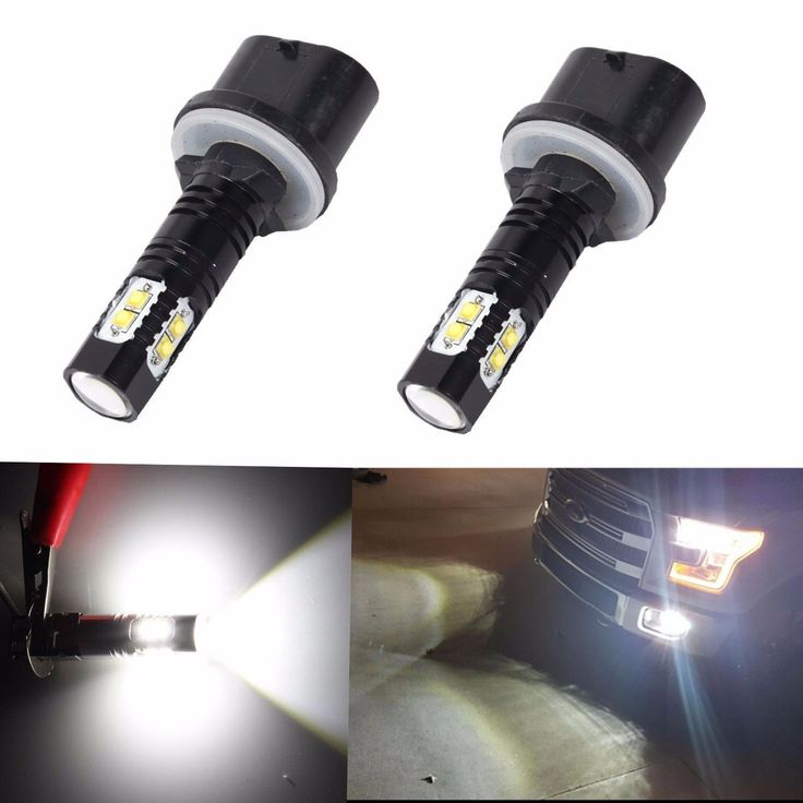 2x 880 899 50W 6000K White CREE High Power LED Projector Fog Lights Bulbs