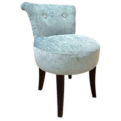 All Home Emily Upholstered Side Chair Occasional Chairs