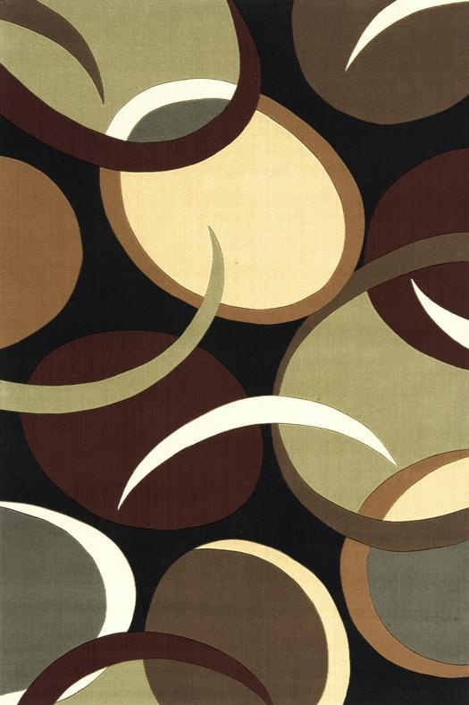Brown Couch White Rug