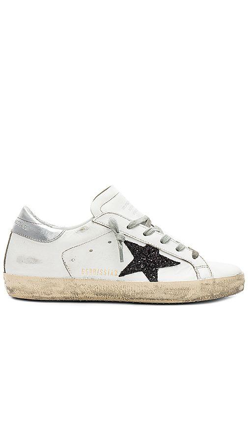216c5ac1c2 Shop for Golden Goose Superstar Sneaker in White Leather & Black ...