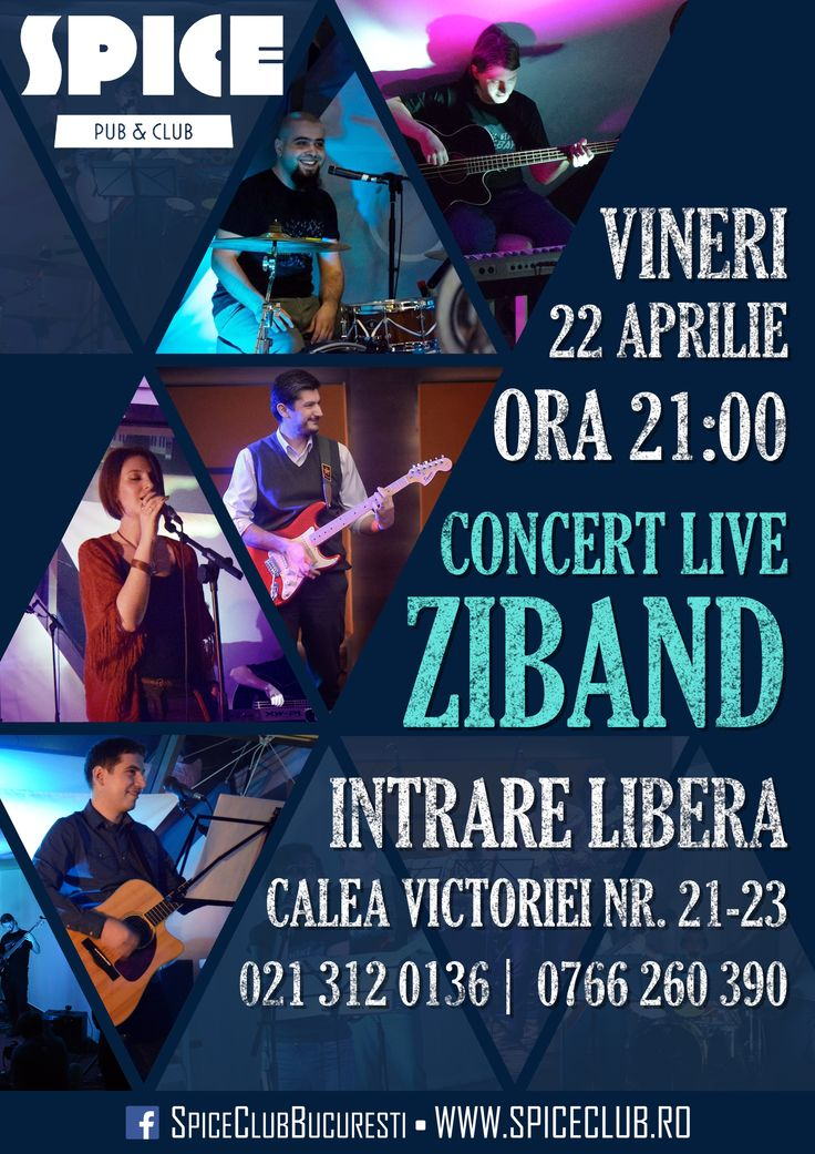 Later tonight, in Spice Club >>ZiBand | Live Show<< #ZiBand #makeitso #getadelafacturare #tibistieprogramare