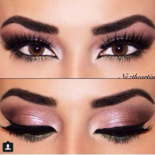 Sexy eye makeup for brown eyes. ♥ | Makeup | Pinterest ...