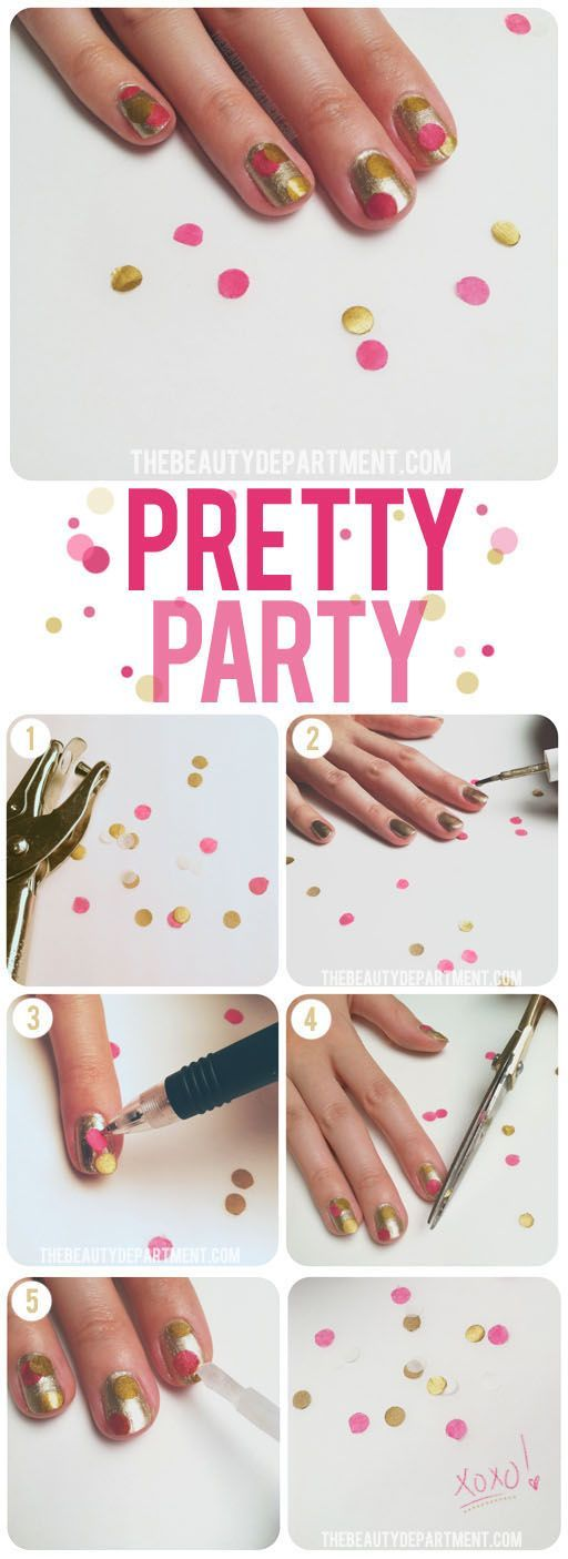 12 best Nails/Birthday images on Pinterest | Beauty, Cupcake nail ...