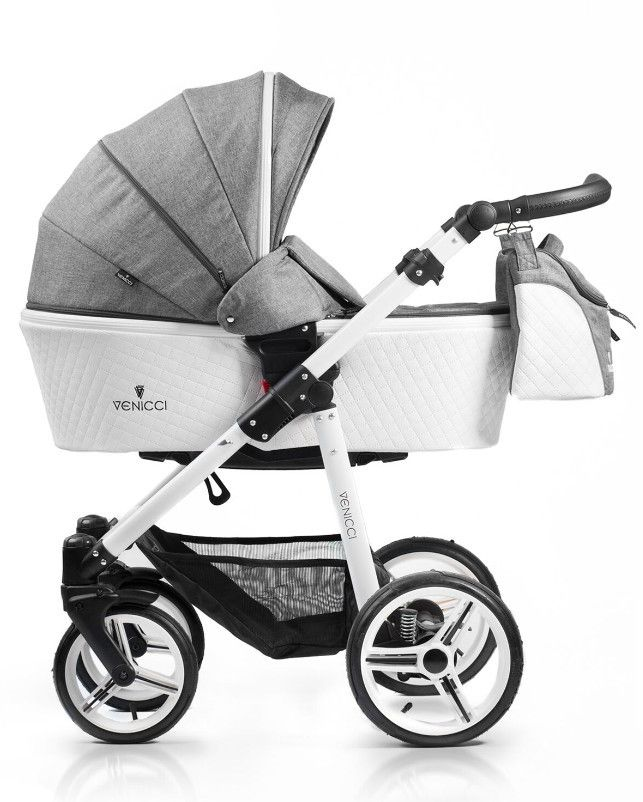 Baby Boom 2000 - Venicci 3 in1 Travel System Pure White Frame Denim Grey, �699.00 (https://www.babyboom2000.co.uk/products/venicci-3-in1-travel-system-pure-white-frame-denim-grey.html)