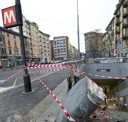 Incidente d'auto per Martin Caceres - fotogallery - Quotidiano Piemontese
