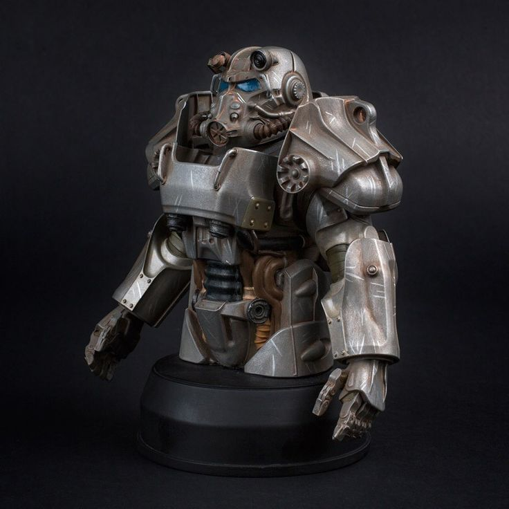 The Bethesda Store - T-60 Power Armor Bust - Fallout - Brands
