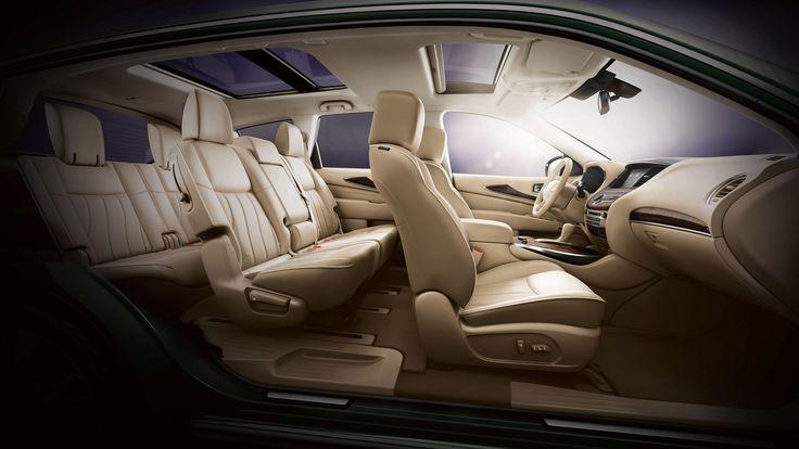 2014 Infiniti QX60 Crossover, car, interior, seats, profile