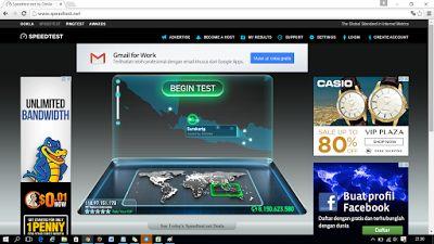 """5 Tahap Pintar """"Cara Test Speed"""" (Kecepatan Internet) dengan Benar dan Akurat:      Pengecekan via speedtest dengan membuka http://speedtest.net/, maka akan.."""