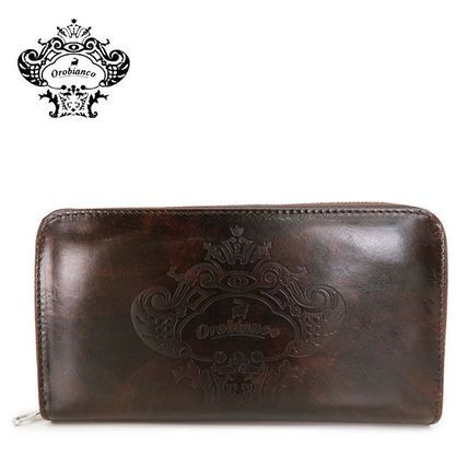 OROBIANCO 長財布 ◆オロビアンコ INTRA I3 レザー 長財布 TRILOGIA CACAO-09