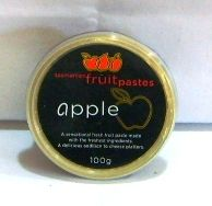 Apple Paste 100g by Tasmanian Fruit Pastes. Available from Jo-Ann & May's Online Gourmet Food www.jomaysgifthampers.com.au