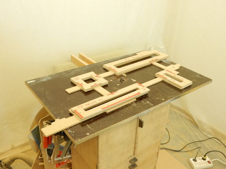 """The jigs are done. The """"Box"""" layers are ready. Got heaps yet to do on this fascinating project..!"""