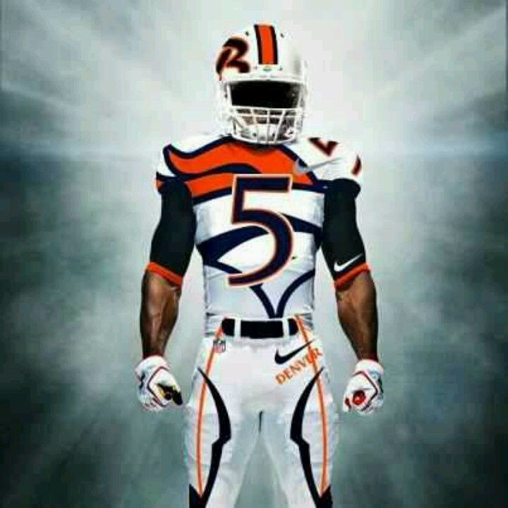 Denver Broncos Uniform! Would rock!