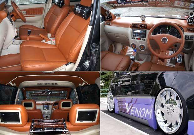 Modifikasi Mobil Toyota Avanza G Interior Exterior