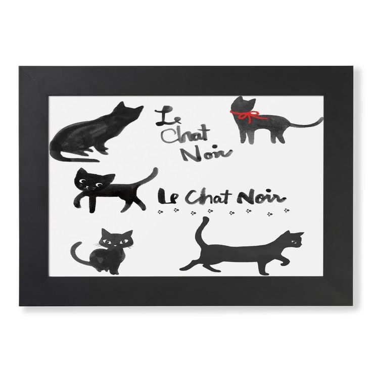 ... u0026#39; : Products : Pinterest : Le chat noir, Products and Framed prints