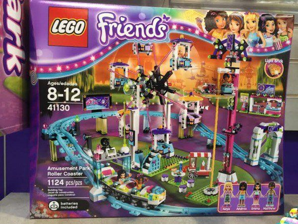 Lego Friends Amusement Park Rollercoaster $120  ~ Lego Friends Sets summer 2016