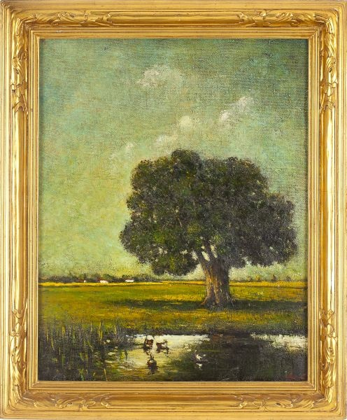 43 best newcomb macklin images on pinterest frames frame and leland little auctions american school landscape in newcomb macklin frame solutioingenieria Images