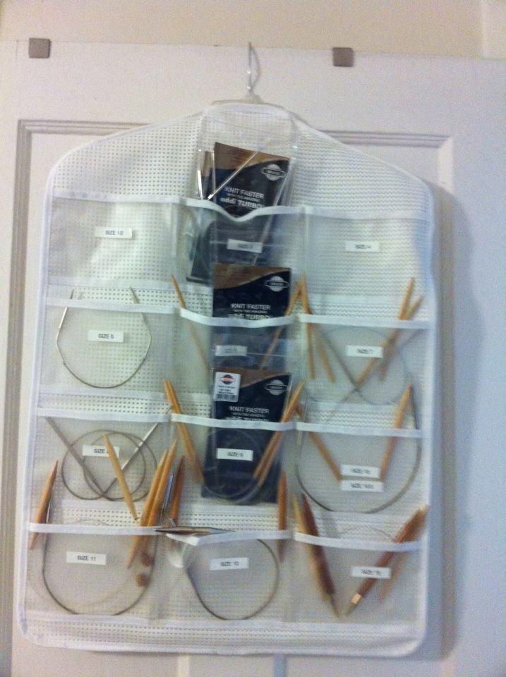 Knitting Needle Storage Diy : Best images about knitting circular needle holders on