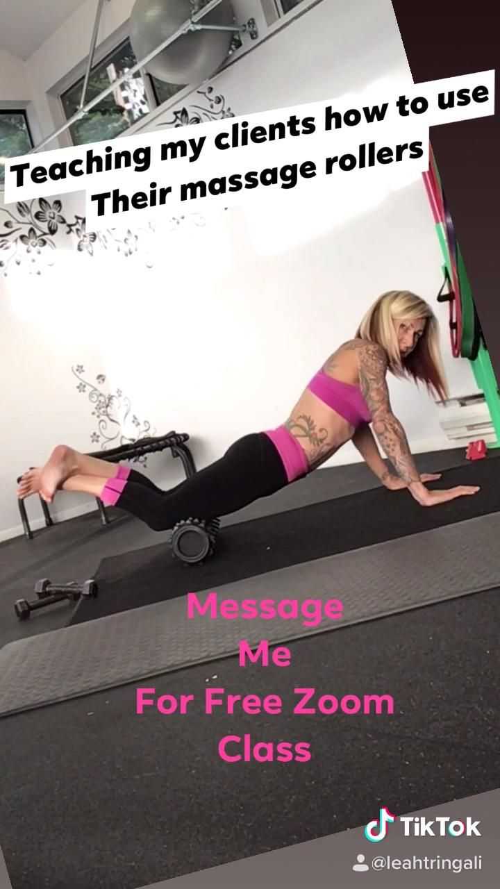 How To Use A Rumbleroller Massage Roller Video Flexibility Workout Full Body Workout Workout Videos