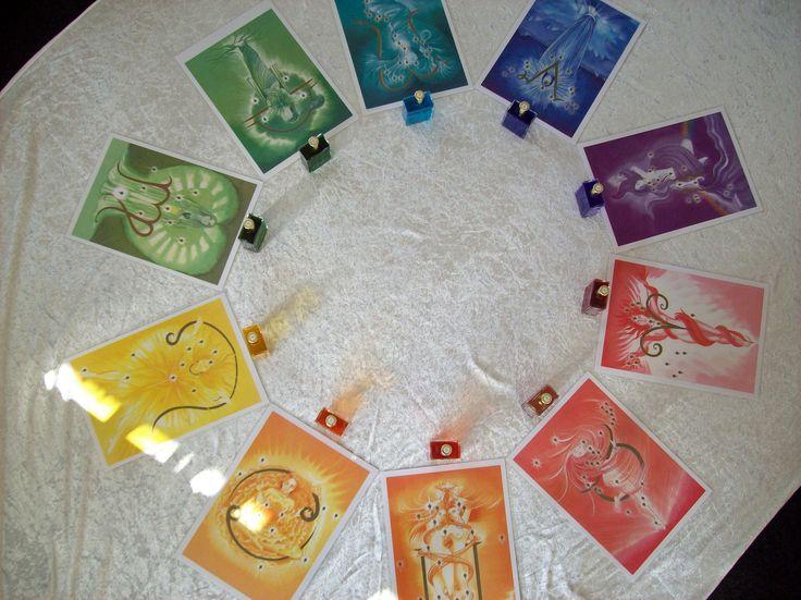 Die Göttinennbilder von Aura Soma. Ich veranstalte regelmäßig Göttinnenmeditationen und benutze diese Bilder und Farböle dazu. Wenn du mehr erfahren möchtest dann hier: http://www.diefarbheilerin.de/Termine